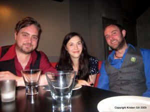 Gavin Glass, Lisa Hannigan, Donagh Malloy