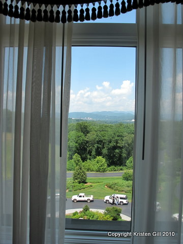 View from My Room at the Inn on Biltmore Estate