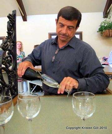 Winemaker Bernard Delille