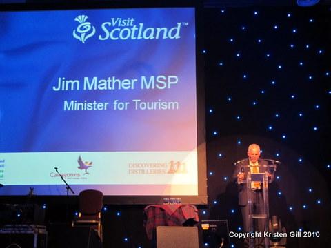 Scottish Minister of Tourism