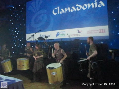 Scottish band Clanadonia
