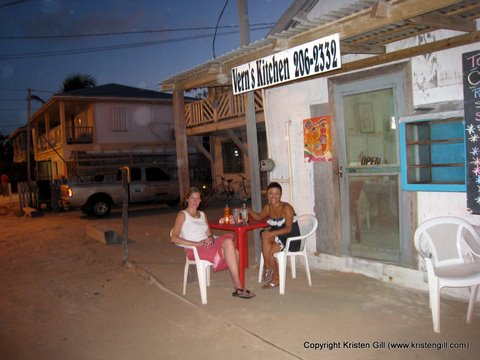 caye caulker belize restaurant