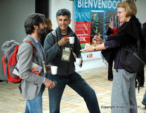 Adventure Travel World Summit - Coffee break sponsored by Veracruz
