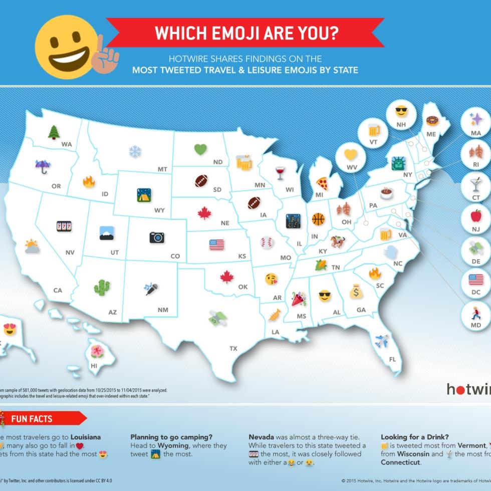 Emoji By State