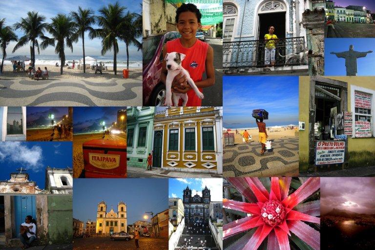 Brazil collage