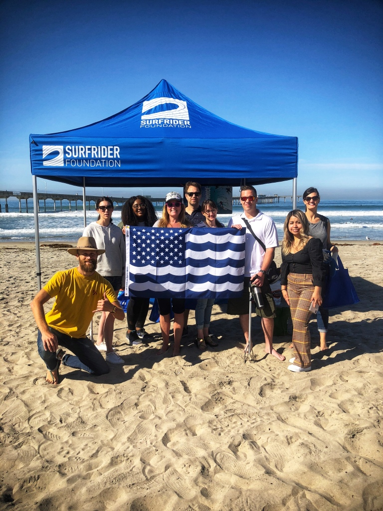 Surfrider Organization Beach Cleanup Crew - Copyright Kristen Gill Media 2018