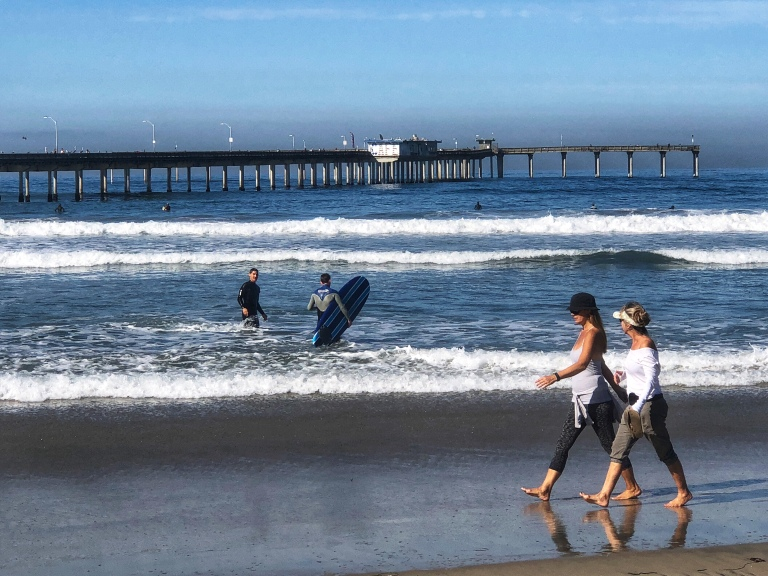 San Diego's Ocean Beach. - Copyright Kristen Gill Media 2018