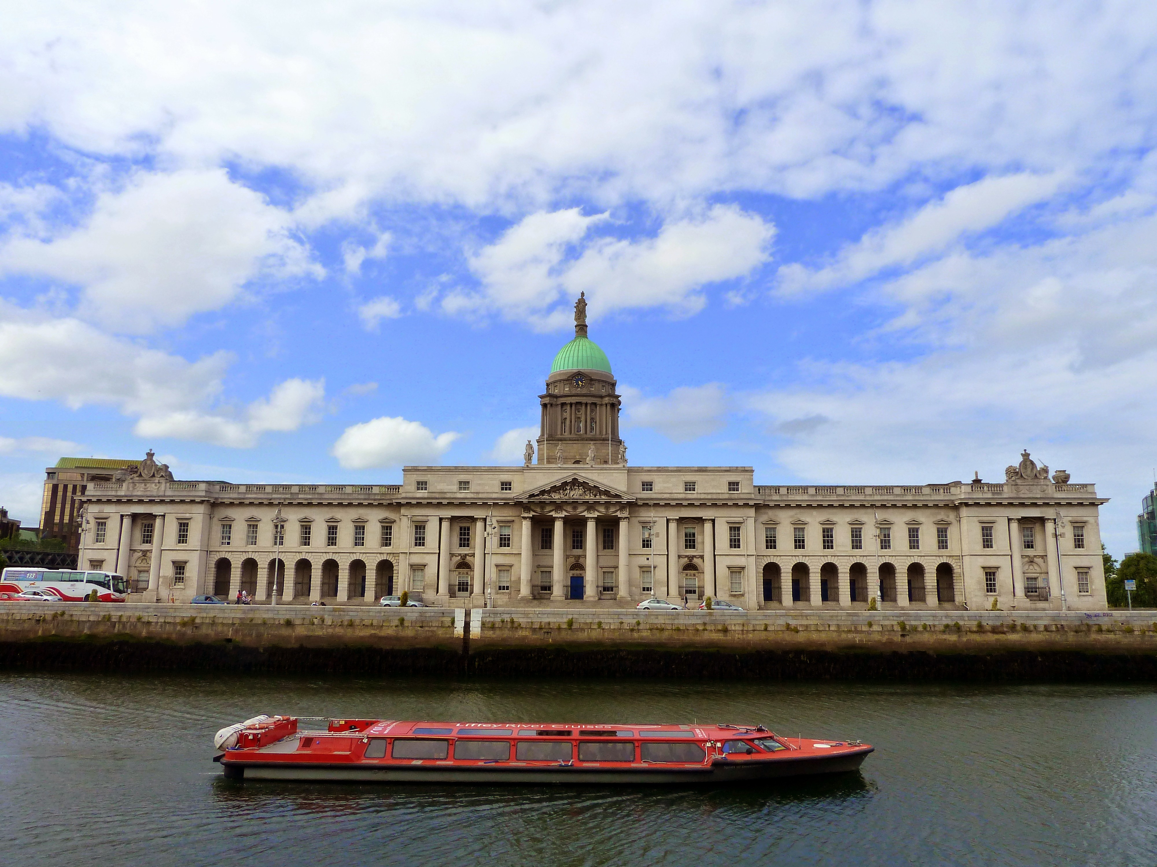 Dublin Ireland Four Courts River Liffey Photography by Kristen Gill