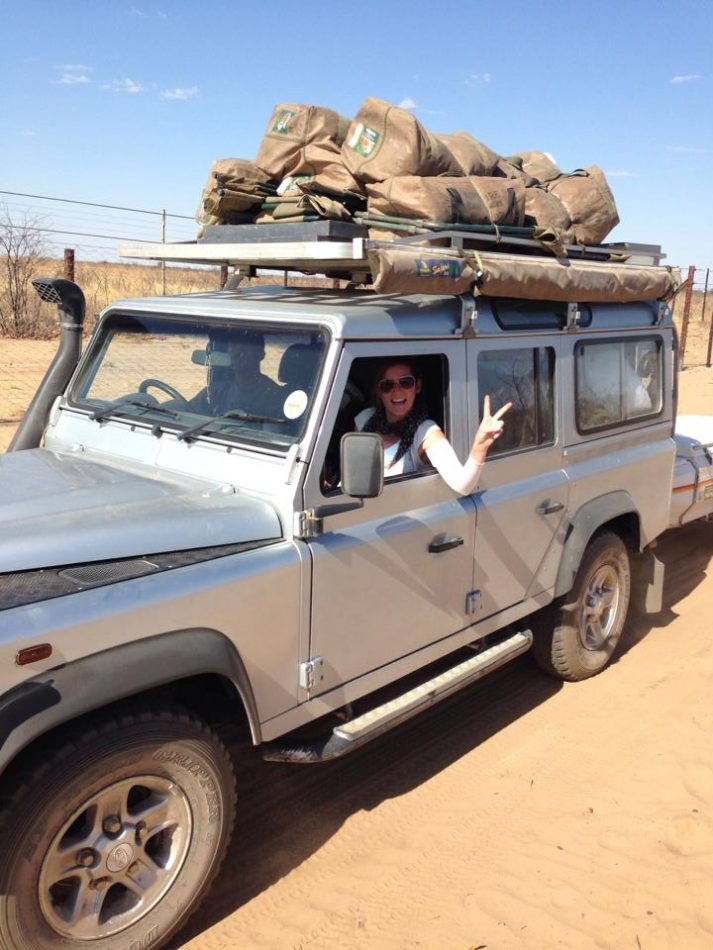 Namibia Travel Adventure Guide Land Rover